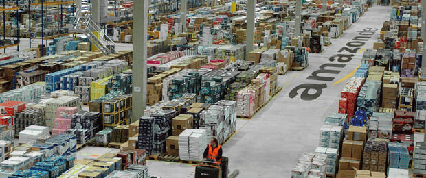 Amazon logistics center in Leipzig: The BVOH reported irregularities in the payments to marketplace dealers.  (Image: Amazon)