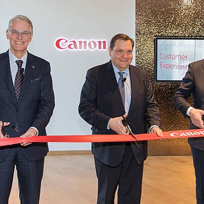 canon weiht neue deutschland zentrale ein. Black Bedroom Furniture Sets. Home Design Ideas
