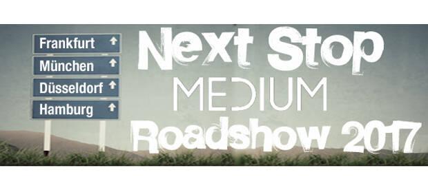 """Unter dem Motto """"Lösungen rund um 4K"""" startet der AV-Distributor Medium Ende Mai zur diesjährigen Roadshow."""